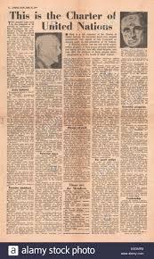 1945 Union Jack Journal Militaire Britannique De La Page