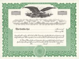 Stock Certificate Template Stock Certificates Free Shipping Exhibitindexes Com