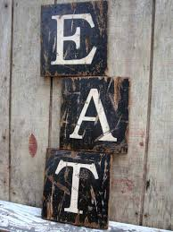 wooden eat letters eat sign x wooden eat sign modern farmhouse kitchen signs diy wooden eat