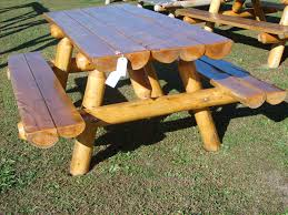 image of round picnic table plans