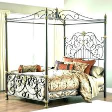 wrought iron canopy bed – tveuro.info