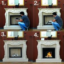 ethanol burning fireplace how to change a traditional fireplace into a bio ethanol fireplace ethanol fireplaces