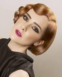 Gatsby Hair Style short bob with retro finger waves 4014 by stevesalt.us
