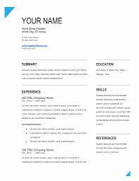 Resume Format Free Download Ms Word Oneswordnet