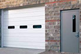 Creativity Commercial Garage Doors With Windows Sectional Door Overhead Intended Concept Ideas