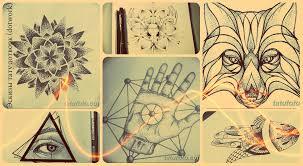 эскизы тату дотворк Dotwork рисунки для тату фото и значение