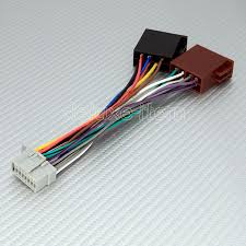 panasonic 16pin iso car stereo audio wire connector new 16 pin iso wiring harness lead for most panasonic car stereo