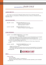 Sample Resume Templates 2017 | Learnhowtoloseweight.net