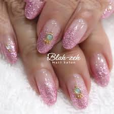 Blah Zeh Nail Salonschool Sur Twitter 2017冬ネイル ラメ