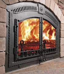 image of zero clearance fireplace brands