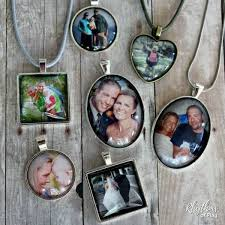 picture necklace photo jewelry tutorial