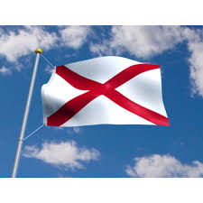 Who Designed The Alabama State Flag Nyl Glo Outdoor Alabama State Flag 3x5