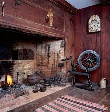 early homes fireplace