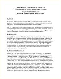 Grant Proposal Template Template Business