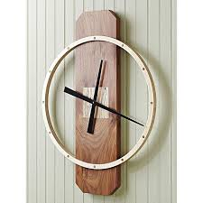 big time wall clock woodworking plan gifts decorations clocks