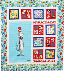 The Magical Cat in the Hat Quilt Kit &  Adamdwight.com