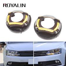 Royalin For Vw Jetta Mk6 Led Headlights Drl Turn Signal