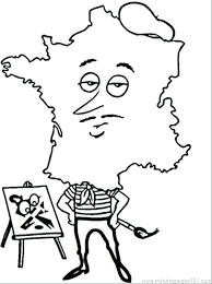 French Coloring Pages French Flag Coloring Page French Coloring