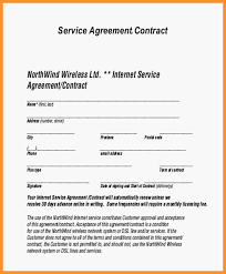 Simple Service Contract 14 15 Basic Service Contract Template Southbeachcafesf Com