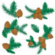 Pine Cone Christmas Decorations Pine Cone Christmas Decoration Stock Vector Art 622916384 Istock
