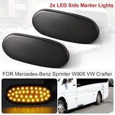 Mercedes Sprinter Side Light Bulb Details About Fits Mercedes Sprinter Vw Crafter Side Marker Light Lamp Led Amber 12v Ld2154