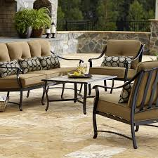 La Z Boy Living Room Set La Z Boy Outdoor Landon 4 Piece Seating Set Limited Availability