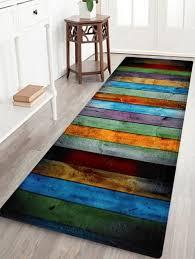 c velvet colorful stripe large area rug colormix w24 inch l71 inch