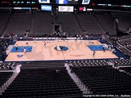 Dallas Mavericks American Airlines Center Seating Chart American Airlines Center Seat Views Section By Section