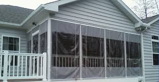How to enclose a porch for winter Plastic Enclose Porch With Plastic Sheeting Acrylic Panels For Screened Porch Windows 19 Don Let Cooler Riyul Porch Decorating How To Enclose Porch Enclose Screen Porch For Winter Unispaclub