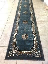 10 foot runner rugs details about runner rug oriental medallion fl size light blue runner rugs 10 foot runner rugs