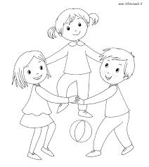 Arcobaleno Da Colorare Per Bambini Az Colorare