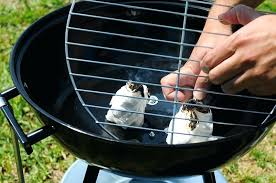 tricks to lighting charcoal without lighter fluid will or chimney if barbecue bottom net place pile