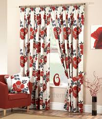 neat design red and black kitchen curtains furniture 2017 pictures black and white