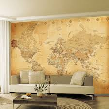 Wallpaper For Living Room Feature Wall Large Wallpaper Feature Wall Murals Landscapes Landmarks