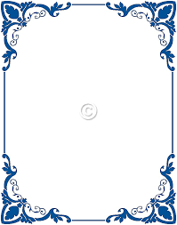 simple frame border design. Free Border Clip Art Frames Blue - Cliparts And Others Inspiration Simple Frame Design N