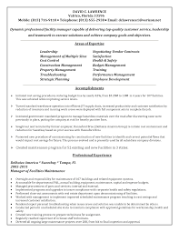 Sample Resume For Facility Maintenance Manager Agreeable Landscape Supervisor Resume Examples With Maintenan 3
