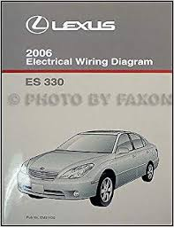2006 lexus es 330 wiring diagram manual original lexus amazon com 2006 lexus es 330 wiring diagram manual original lexus amazon com books