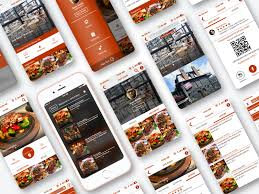 restaurant menu design app interactive restaurant menu ios app by matthew k on dribbble