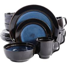 blue dinnerware sets. Plain Blue Quickview Intended Blue Dinnerware Sets O
