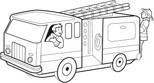 Free Fire Truck Coloring Pages Printable Print Out Jokingart Com