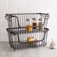 white storage baskets wicker storage cubes basket bin wall mounted wire basket shelves