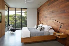 choose wood accent walls for a warm and