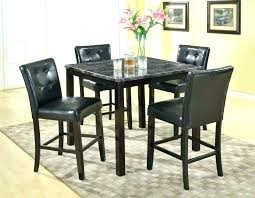 round pub table and chairs black for set ideas 14