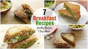 healthy food recipes to lose weight. Modren Recipes 7 Breakfast Recipes For The Entire Week  Days Healthy Ideas  Diet Plan To Lose Weight Throughout Food
