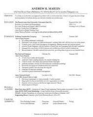 example of military resume sample resumes military to civilian     RDW