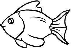 Small Picture Goldfish Coloring Pages Gold Fish Coloring Page Cli Panda Free