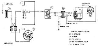 wiring circuit diagrams truck service manual tm 5 4210 230 14 p 1 bodies and cabs wiring circuit diagrams heater and air conditioning system wiring circuit diagrams are illustrated