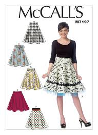 Mccalls Skirt Patterns