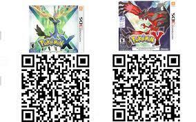 Pokémon X and Y QR codes! (EU) : 3dsqrcodes