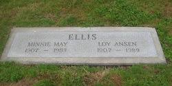 Minnie May Mansfield Ellis (1907-1983) - Find A Grave Memorial